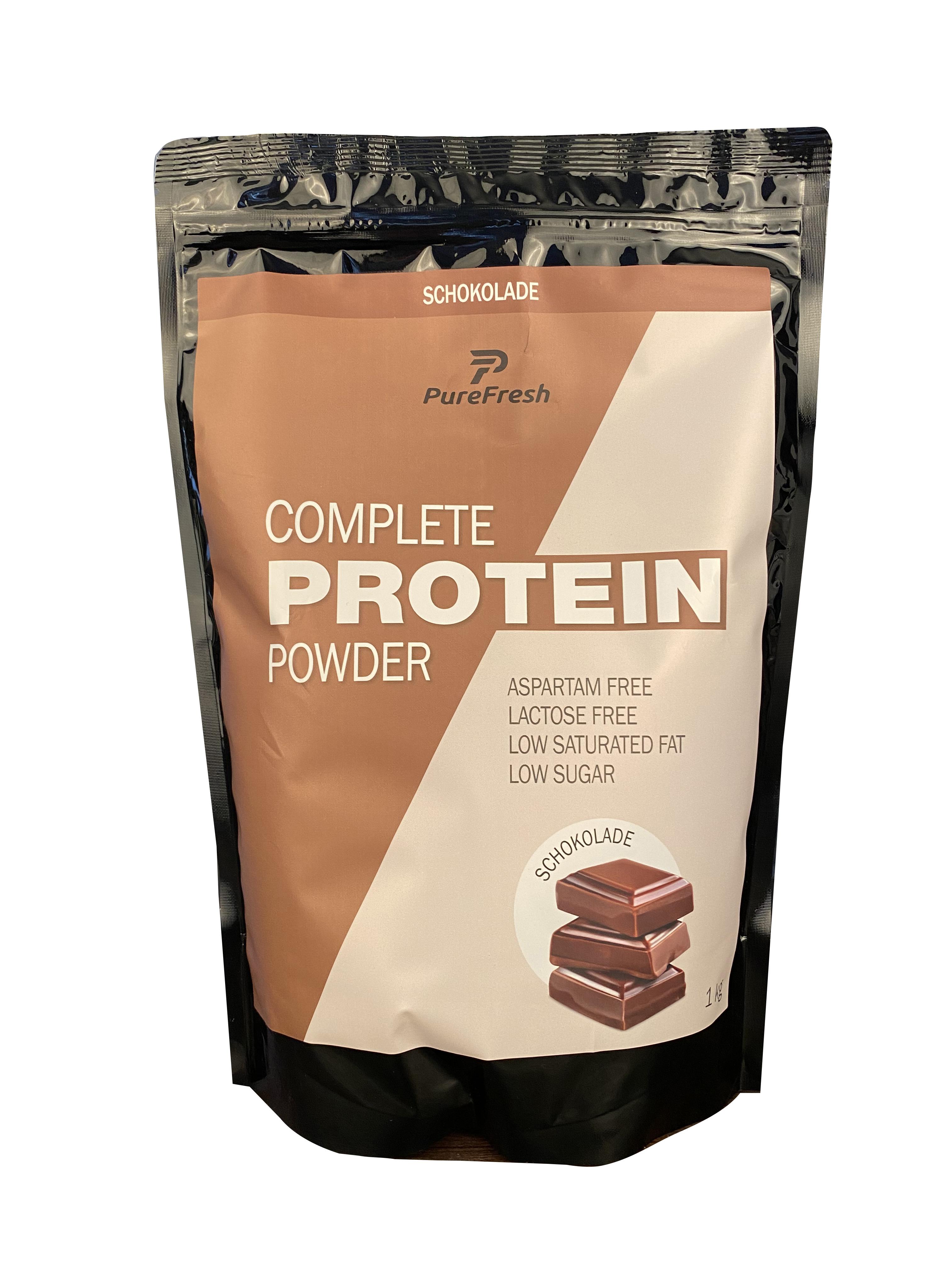 Complete Protein Powder 1 kg Frischhaltebeutel